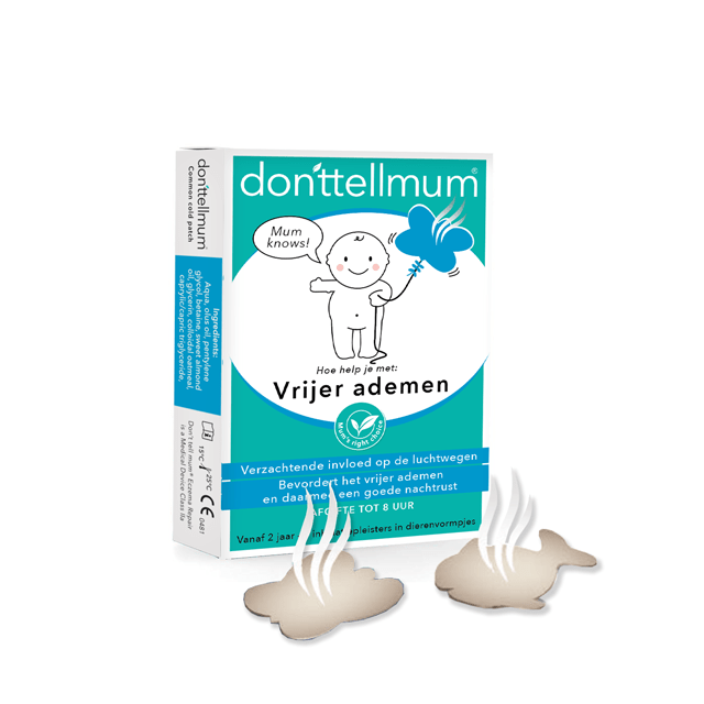 donttellmum Inhalatiepleister